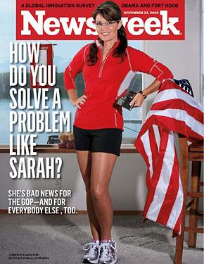Newsweek Caught Nailin Palin